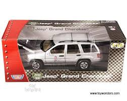 jeep cherokee toy diecast collector model cars motormax jeep grand cherokee suv 1