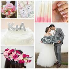 wedding color schemes pink and grey allfreediyweddings com