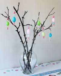 easter decorations bead garlands and hanging ornaments loulou