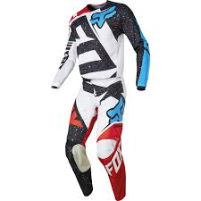 childrens motocross gear fox 2017 kids mx new 180 nirv red white jersey pants youth