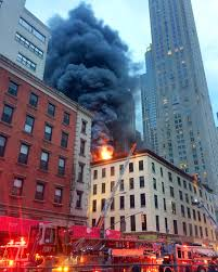 Htc Wildfire Weather App Not Working by Huge Fire Rips Through Tribeca Building