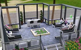 Modern Mansion Floor Plans by Home Design Modern House Floor Plans Sims 3 Southwestern