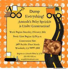 construction baby shower construction trucks baby shower invitation builder