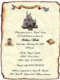 scroll invitation qty 50 cinderella fairytale ancient castle wedding invitation