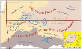 Missouri Flooding Map Ozark Mountains Are A Safe Refuge Area For Christian Preppers A