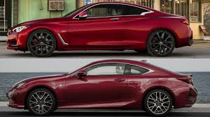 lexus turbo coupe infiniti q60s 2017 vs lexus rc350 f sport youtube