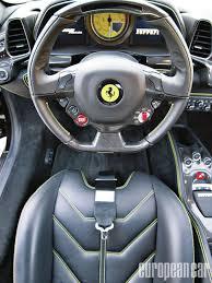 ferrari steering wheel 2011 ferrari 458 italia european car magazine