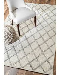 here u0027s a great deal on nuloom contemporary flatweave trellis wool