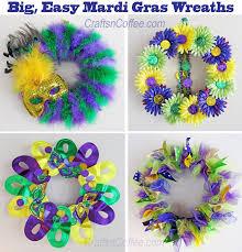 mardi gras wreaths diy four big easy mardi gras wreaths crafts n coffee