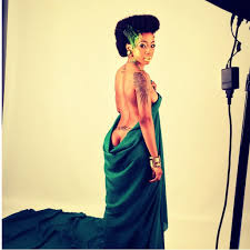 kelly khumalo s recent hairstyle kelly khumalo goes nude daily sun