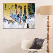 handmade modern oil painting hang paintings wall simple abstract