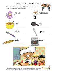 Free Independent Living Skills Worksheets Cooking With Kids Word Scramble Nutrition Worksheets And Games
