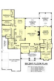 Floor 54 by House Plan Bb 2597 From House Plan Zone