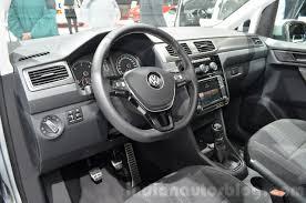 volkswagen minivan 2016 interior vw caddy alltrack geneva motor show live
