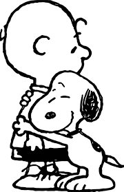 Snoopy Flags Snoopy Hug Coloring Page Wecoloringpage