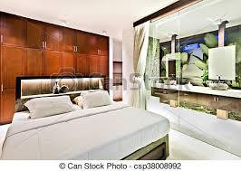 mur de chambre en bois bois moderne mur verre chambre à coucher armoires