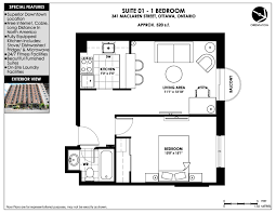 Bachelor Apartment Floor Plan by Downtown Apartments For Rent 341 Maclaren