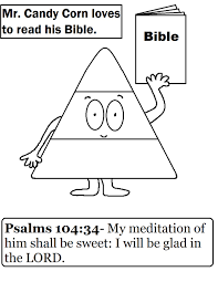 Christian Halloween Coloring Pages Free Candy Corn Sunday Lesson Fall Sunday Lessons