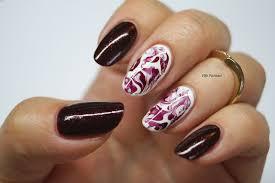 burgandy nail art images nail art designs