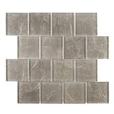metallic tile flooring the home depot
