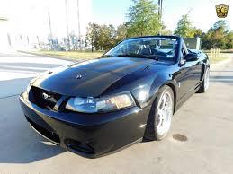 2003 Mustang Cobra Black 2003 Ford Mustang Gateway Classic Cars 558