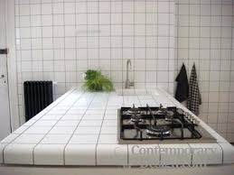 Ceramic Tile Kitchen Countertops by Kitchen With White Tile Countertops