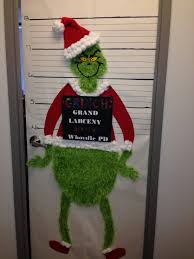 charming christmas office door decorating ideas whoville christmas