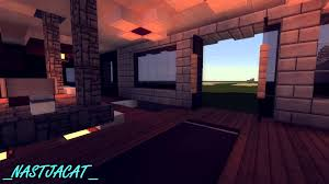 minecraft modern house with modern interior review hd youtube