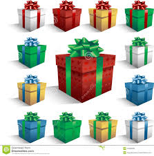 christmas boxes christmas gift boxes stock photography image 14584332