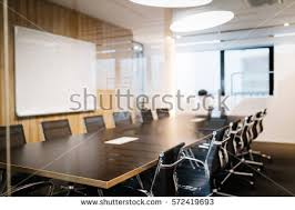 Conference Room Interior Design Modern Furnished Conference Room Beautifully Designed Stock Photo