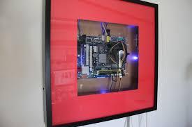 ikea ribba diy computer case using ikea ribba picture frames emerysteele com