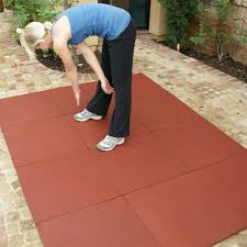 outdoor mats u2014using rubber for patio flooring