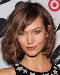medium hairstyles with side bangs for women stylish medium layered