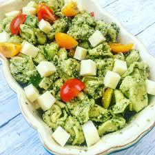 Cold Pasta Salad Recipe Cold Tortellini Pesto Pasta Salad