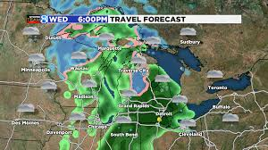 Travel Weather Map Wintry Mix May Slow Thanksgiving Travel Woodtv Com