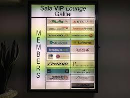 review sala vip lounge pisa galilei international airport