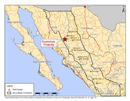 Mexico Maps Map Of Guadalupe Mexico My Blog