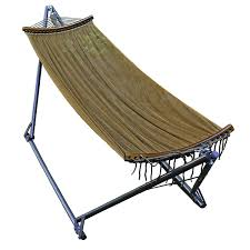 Hammock Frame Amazon Com Algoma 4912 E Z Cozy Folding Hammock Patio Lawn U0026 Garden