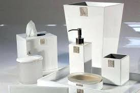 Modern Bathroom Accessories Sets Modern Bathroom Accessories Set Northlight Co Contemporary 16