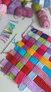 Basic Diy Loom And Woven by Basket Weave Crochet Strips Bench Cover Photo Tutorial Crazy