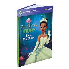 amazon leapfrog leapreader book disney princess frog