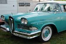 1958 edsel roundup 2 door station wagon photos and specs from