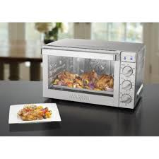 Waring Toaster Ovens Waring Pro Co1600wr Convection Oven 1 5 Cubic Feet Walmart Com