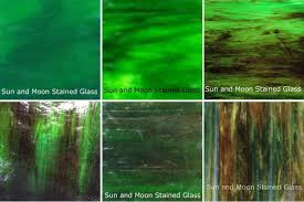 wissmach glass stained glass and mosaic glass sheet pack deep