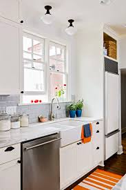 small kitchen sink and cabinet combo smart kitchen layouts better homes gardens