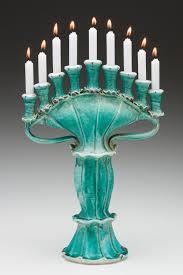 ceramic menorah gertrude graham smith mica