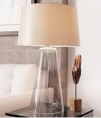 Glass Table Lamps Katy Preview Modern Glass Table Lamps
