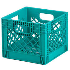 milk crate shelves green milk crate storage the land of nod