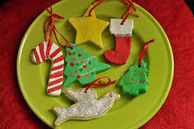 activity salt dough ornaments
