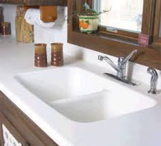 Solid Surface Sinks Kitchen Diy Solid Surface Countertop Installation How To